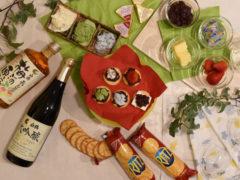 日本酒とあんこでリッツパーティーを楽しみました。