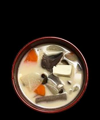 粕汁04:キムチで味変