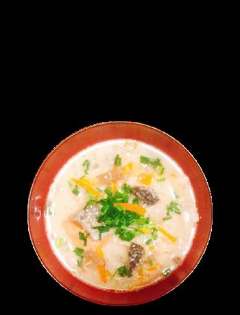 粕汁08−1:塩鮭は欠かせない